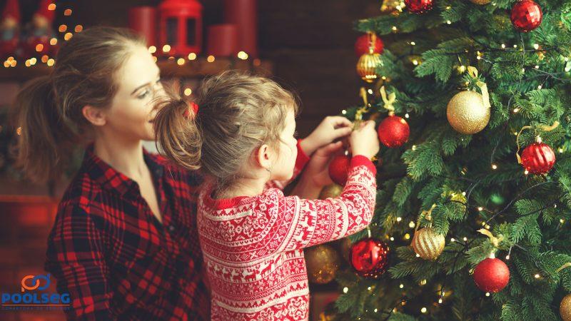 É Natal: saiba como fazer uma decoração segura